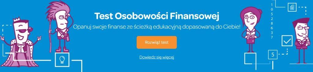 osobowość finansowa test