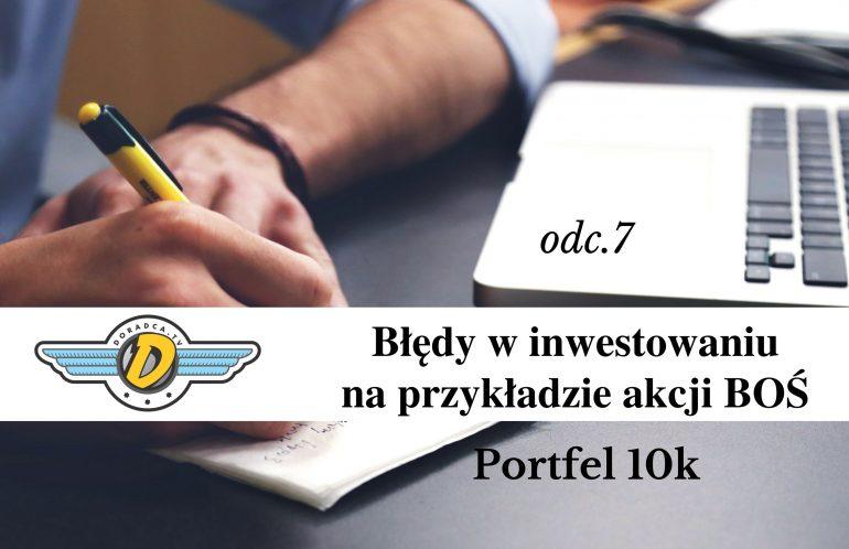 błędy w inwestowaniu portfel10k