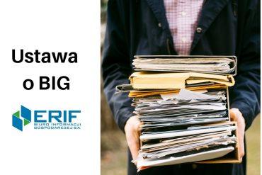 ustawa o BIG