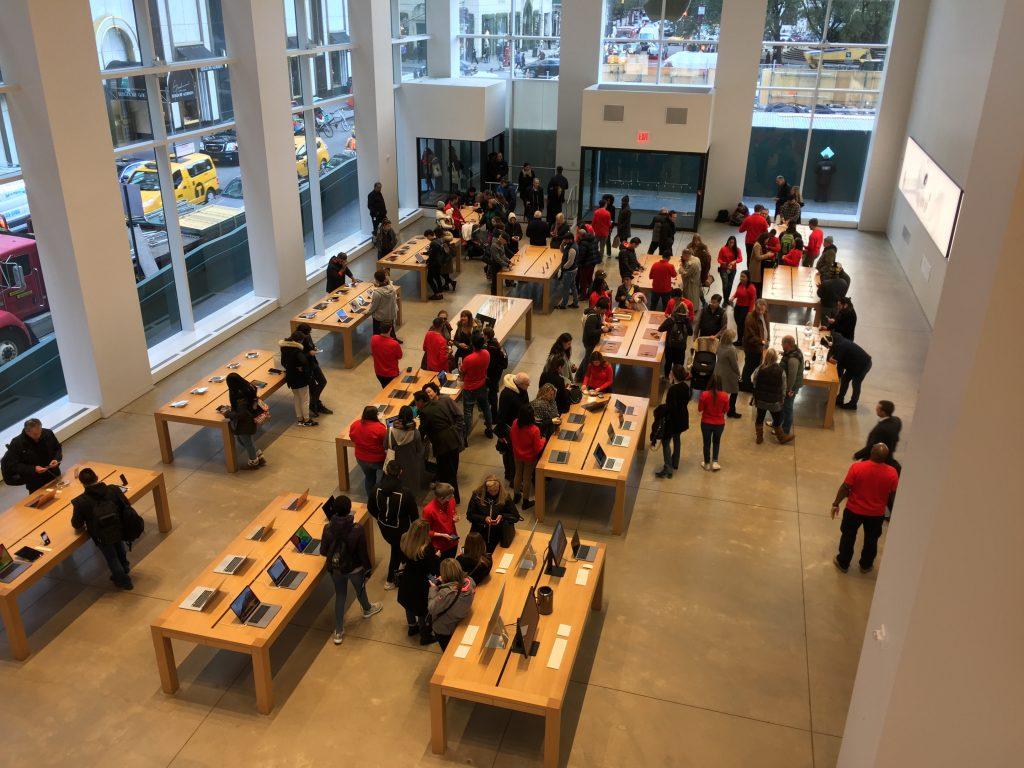 akcje Apple Nowy Jork