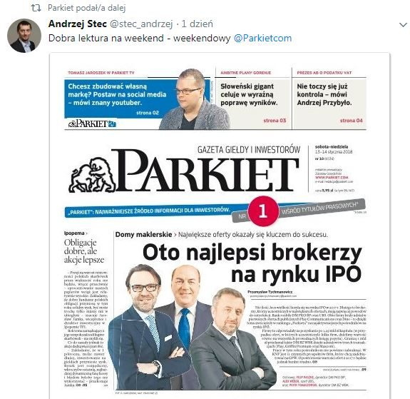parkiet TV okladka
