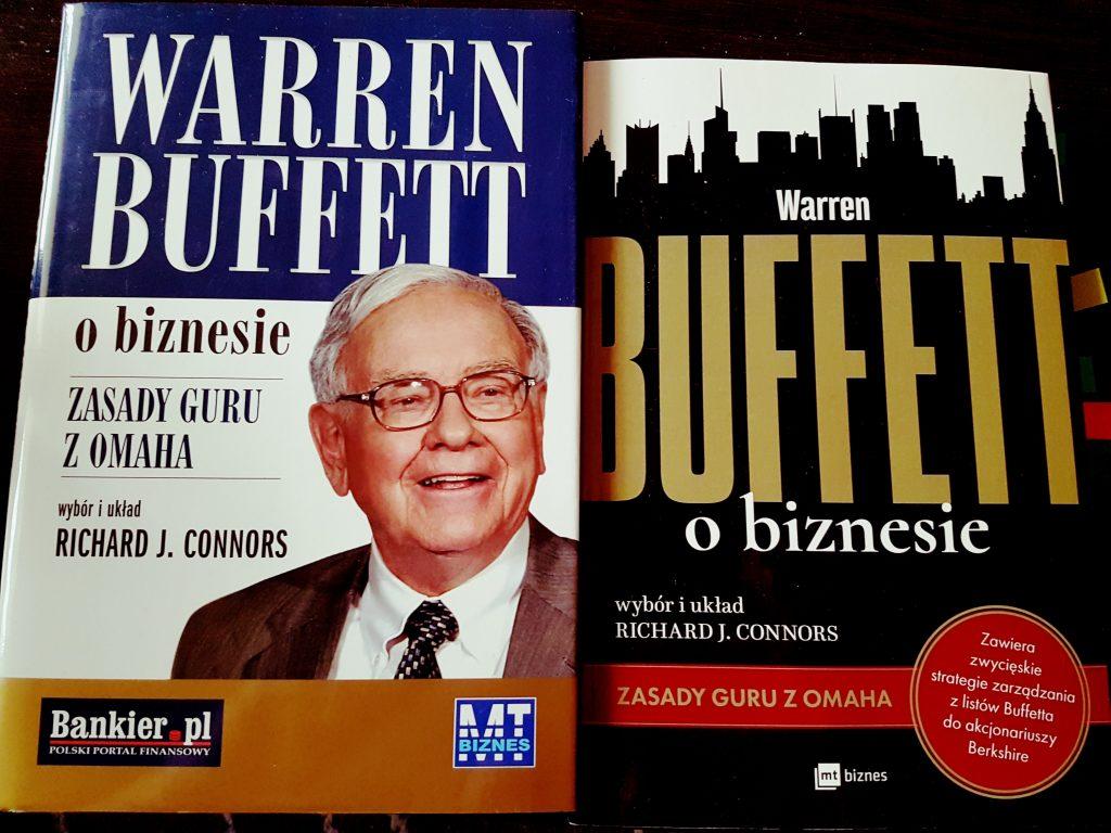 książki o Warrenie Buffecie biznes