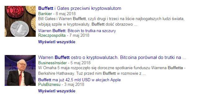 Buffett o bitcoinie