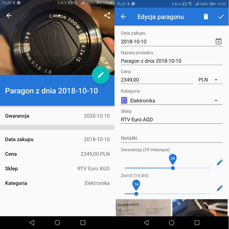 panparagon aplikacja
